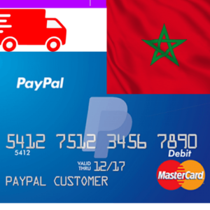 paypal vcc morocco