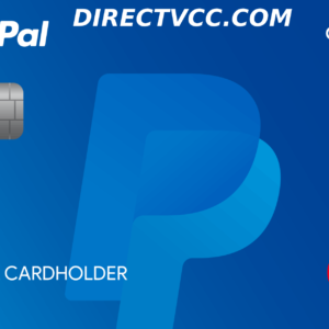 paypal vcc for verification