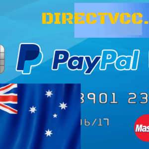 PAYPAL VCC FOR Australia PAYPAL