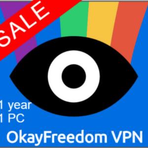 OkayFreedom VPN Premium 1 YEAR