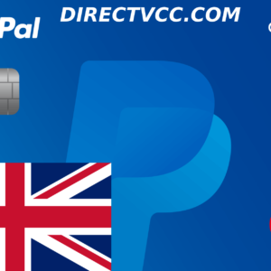 PAYPAL VCC UK
